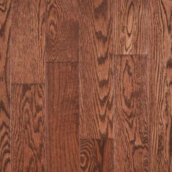 Plancher de bois massif en chêne