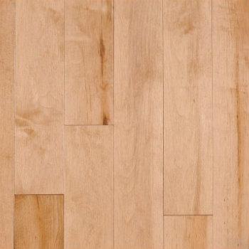 Plancher de bois massif en érable