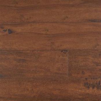 Maple floating floor