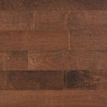 Plancher de bois massif en merisier